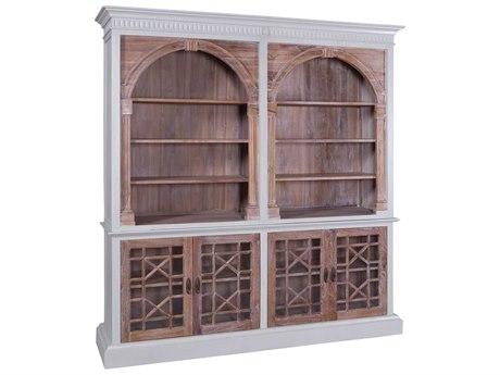 Elk Home Grain De Bois Greige Bookcase