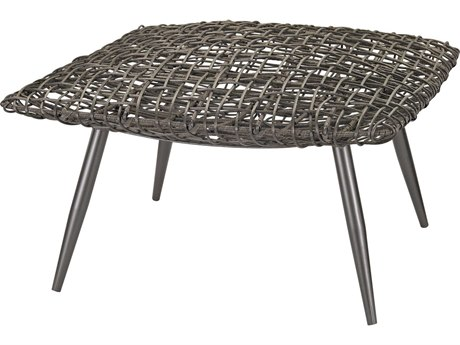 Elk Lighting Woven Wicker Espresso Accent Stool