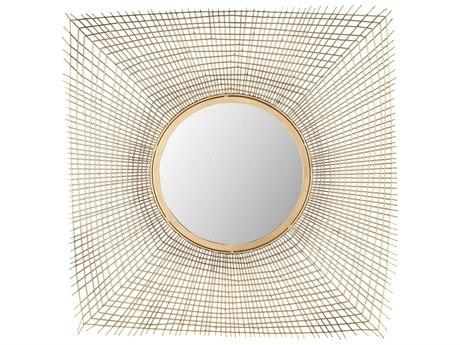 Elk Lighting Zakros Gold 25'' Square Wall Mirror