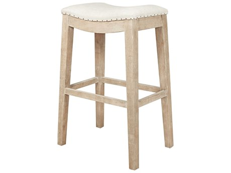 Essentials for Living Bisque / Stone Wash Side Bar Height Stool