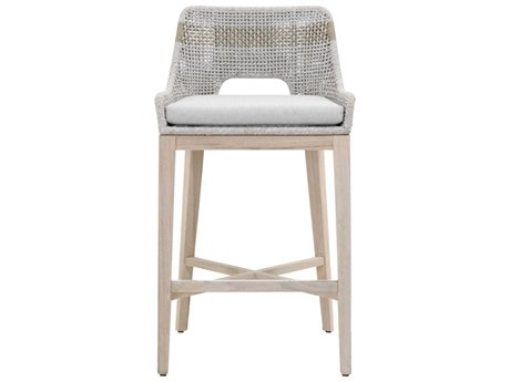 Essential For Living Gray / Taupe White/ Pumice Side Bar Height Stool