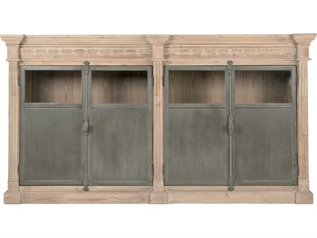 Essentials for Living Bella Antique Smoke Gray, Gray Buffet