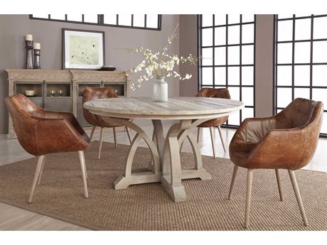 Essentials for Living Bella Antique Dining Room Set ESL8041KDSGRYELMSET1