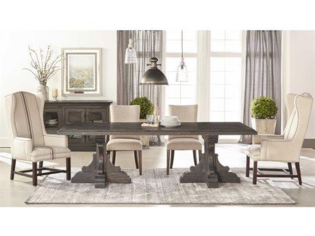 Essentials for Living Bella Antique Dining Room Set ESL8078BWPNESET1
