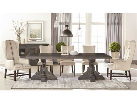 Essentials for Living Bella Antique Casual Dining Room Set ESL8078BWPNESET2