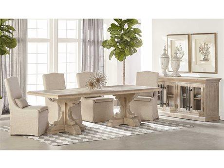 Essentials for Living Bella Antique Dining Room Set ESL8078SGRYPNESET1