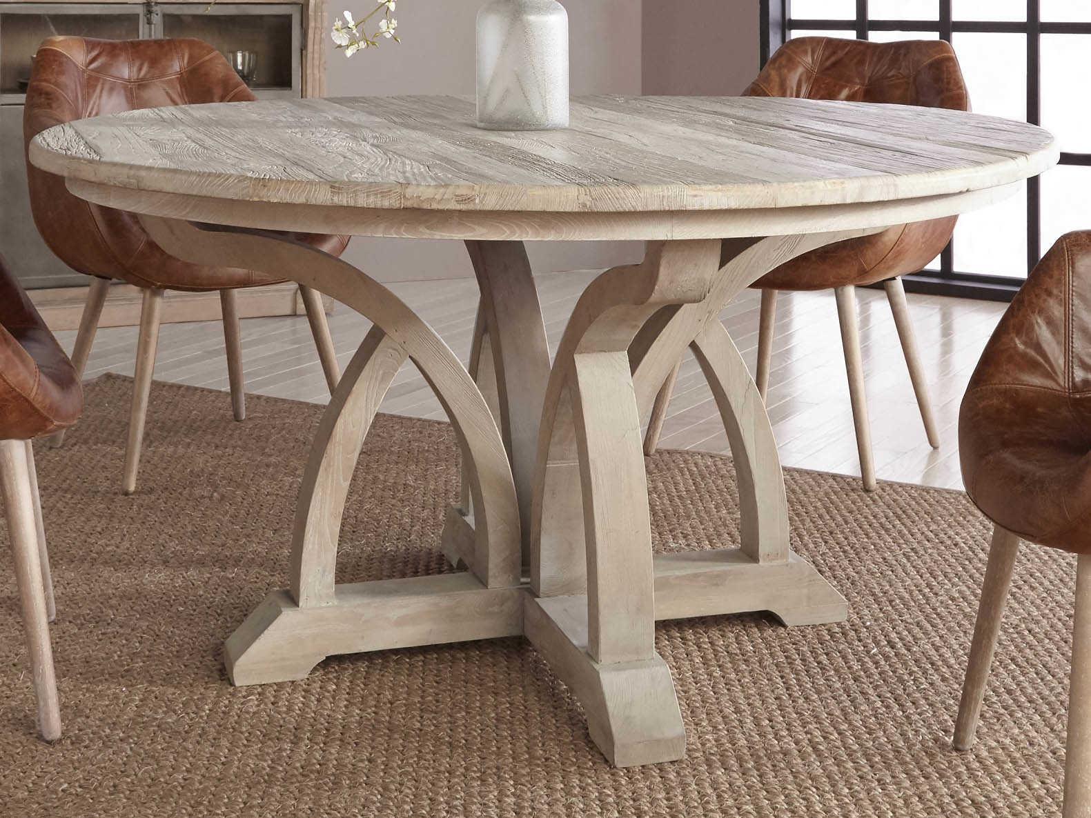 Essentials For Living Bella Antique, Antique Dining Room Table