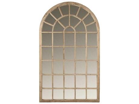 Essentials for Living Bella Antique Smoke Gray Floor Mirror
