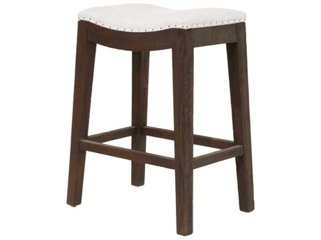 Essentials for Living Bisque / Rustic Java Side Counter Height Stool