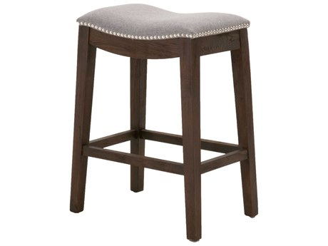 Essentials for Living Earl Gray / Rustic Java Side Counter Height Stool