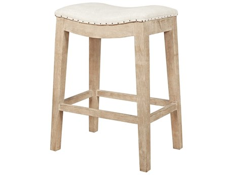 Essentials for Living Bisque / Stone Wash Side Counter Height Stool