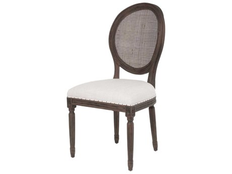 Essentials for Living Bisque / Rustic Java Side Dining Chair (Set of 2)