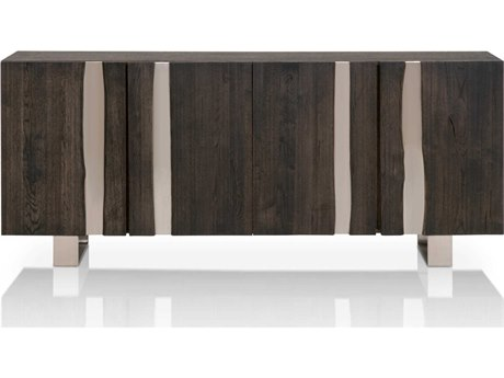 Essential For Living District Brushed Charcoal/ Nickel Buffet ESL4621BNICBCO