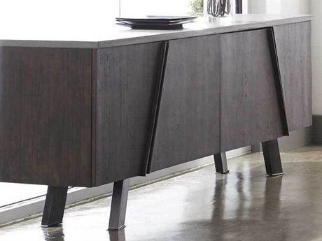 Essential For Living District Ash Grey/ Whiskey/ Distressed Black Buffet ESL4631BLKAGRY