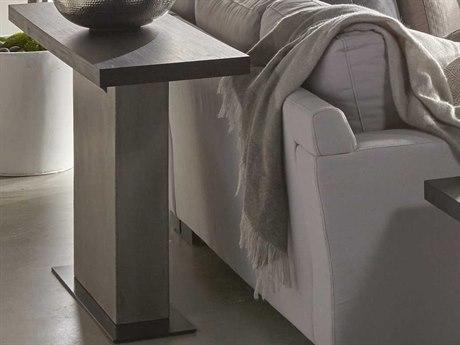Essential For Living District Espresso/ Slate Grey/ Matte Black 55'' Wide Rectangular Console Table ESL4604SLAGRYESP