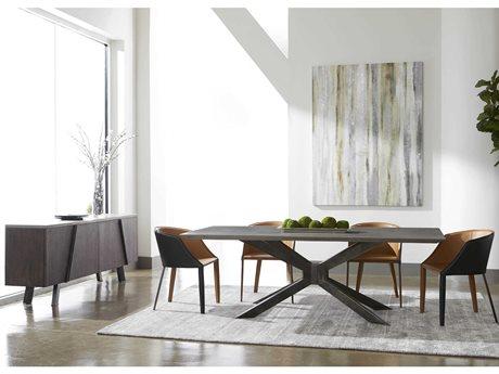 Essentials for Living District Modern Casual Dining Room Set ESL4630BRAIVOSET2