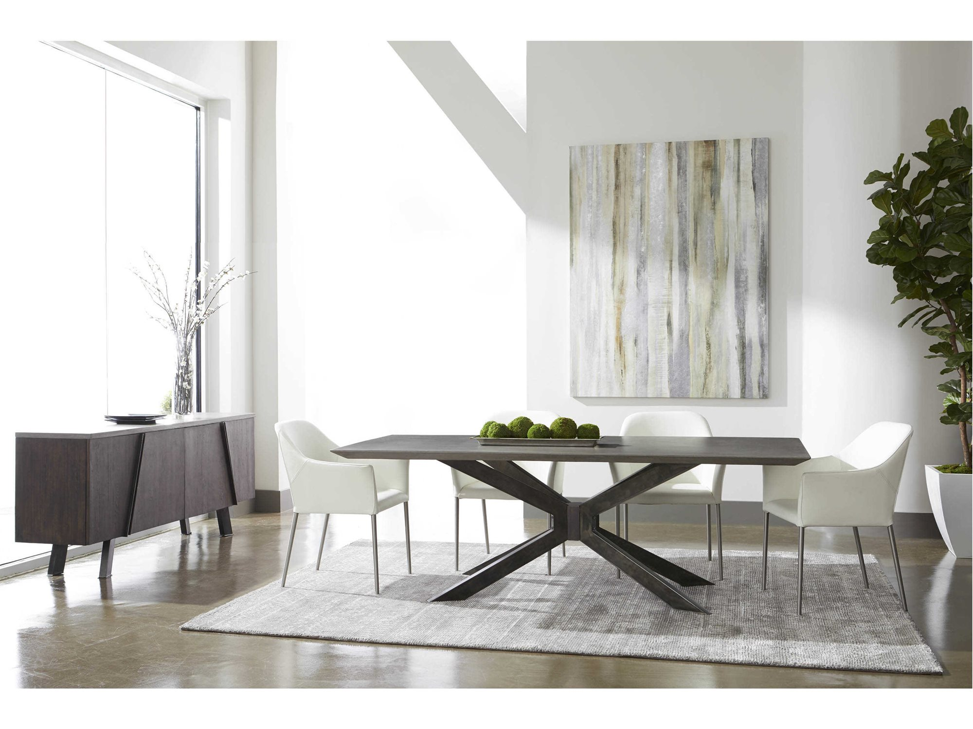 Essentials for Living District Modern Casual Dining Room Set