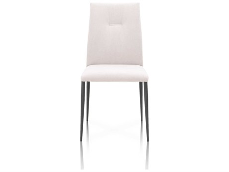 Essential For Living Meridian Clay / Matte Dark Grey Side Dining Chair (Set of 2)