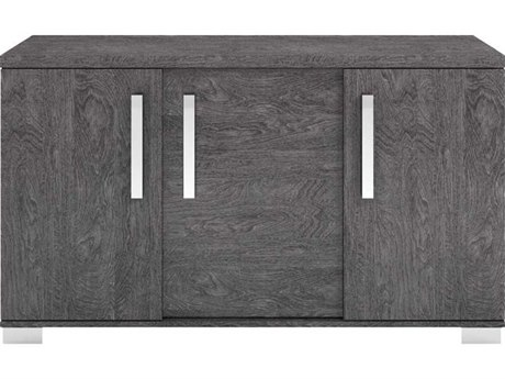 Essential For Living Vivente Noble Grey Birch Acrylic Lacquer 59'' x 19.5'' Buffet