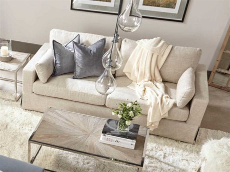 Essentials for Living Bisque Sofa Couch
