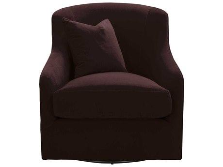 Essential For Living Stitch & Hand Aubergine / Swivel Accent Chair ESL6654AUB