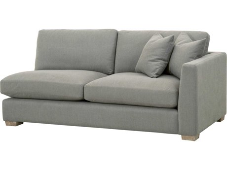 Essentials for Living Stitch & Hand Peyton-slate / Natural Gray Oak Right Arm Loveseat