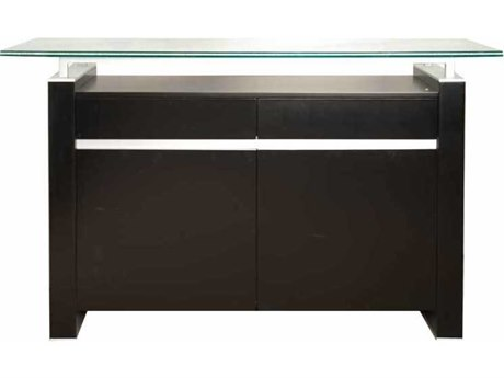 Essential For Living Ritz Tiffany Dark Walnut Acrylic Lacquer 49.5'' x 18'' Buffet Base