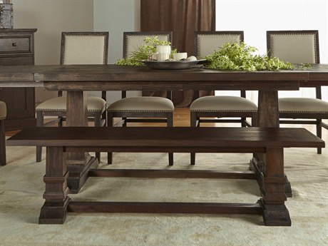 Essentials for Living Traditions Rustic Java Dining Bench