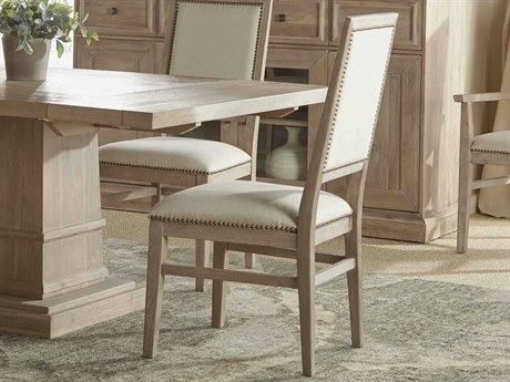 Essentials for Living Traditions Natural / Stone Wash Side Dining Chair (Set of 2)