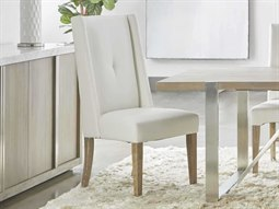 Traditions White / Natural Gray Side Dining Chair (Set of 2)