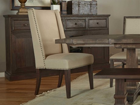 Essentials for Living Traditions Natural / Rustic Java Side Dining Chair (Set of 2)