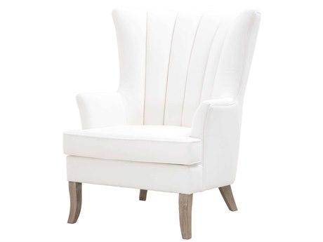 Essentials for Living Villa Livesmart Peyton-pearl / Natural Gray Accent Chair ESL7198UPLPPRLNG