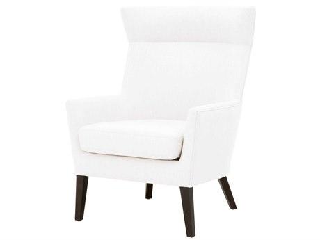 Essentials for Living Villa Livesmart Peyton-pearl / Espresso Accent Chair ESL7202UPLPPRL