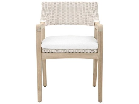 Essential For Living Lucia Gray / White Speckle Arm Dining Chair