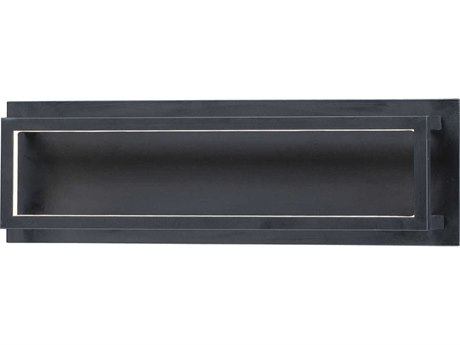 ET2 4 Square Black LED Vanity Light ET2E30592BK