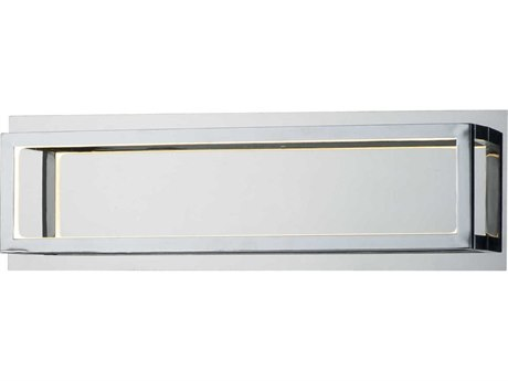 ET2 4 Square Polished Chrome LED Vanity Light ET2E30592PC