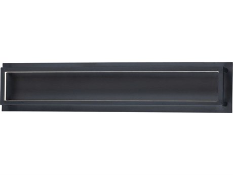 ET2 4 Square Black LED Vanity Light ET2E30594BK