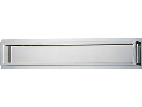 ET2 4 Square Polished Chrome LED Vanity Light ET2E30594PC