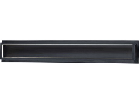 ET2 4 Square Black LED Vanity Light ET2E30596BK