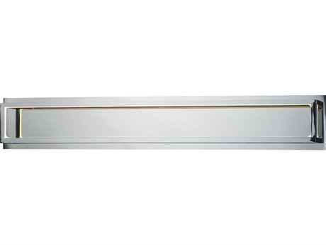 ET2 4 Square Polished Chrome LED Vanity Light ET2E30596PC