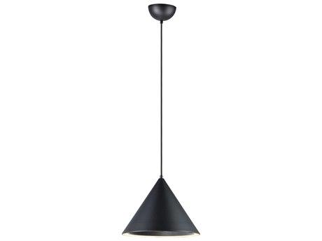 ET2 Abyss Black 12'' Wide LED Pendant ET2E20084BK