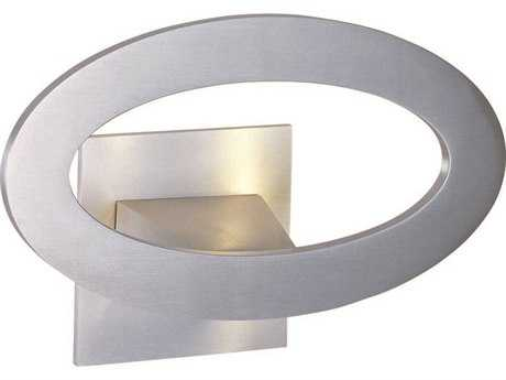 ET2 Alumilux AL Satin Aluminum Seven-Light Outdoor Wall Light ET2E41300SA