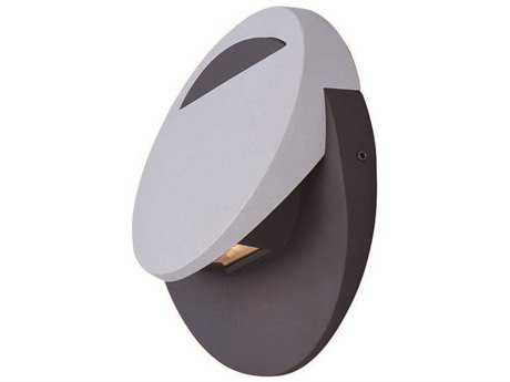 ET2 Alumilux DC Bronze & Platinum Three-Light Outdoor Wall Light ET2E41410BZPL