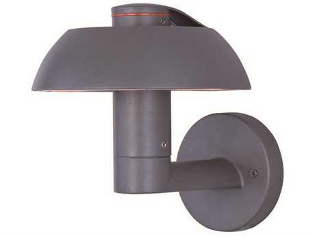 ET2 Alumilux DC Dark Grey Six-Light Outdoor Wall Light ET2E41415DG