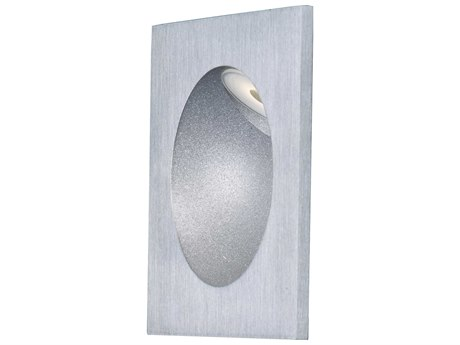 ET2 Alumilux Pathway Satin Aluminum 3'' Wide LED Outdoor Wall Light ET2E42403SA