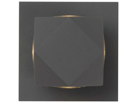 ET2 Alumilux Bronze Four-Light 5'' Wide LED Outdoor Wall Light ET2E41534BZ