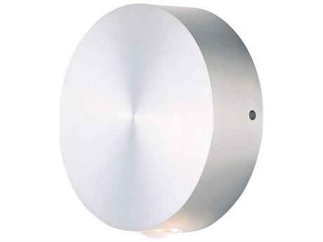ET2 Alumilux Satin Aluminum 5'' Wide LED Outdoor Wall Light ET2E41540SA