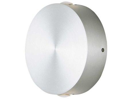 ET2 Alumilux Satin Aluminum Two-Light 5'' Wide LED Outdoor Wall Light ET2E41542SA
