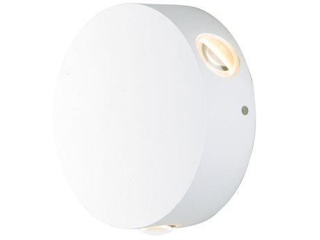 ET2 Alumilux White Three-Light 5'' Wide LED Outdoor Wall Light ET2E41544WT