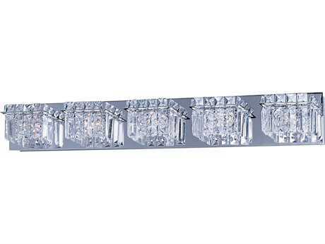 ET2 Bangle Polished Chrome Five-Light Vanity Light ET2E2325520PC